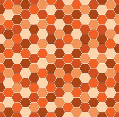 pattern of geometric shapes: Seamless background pattern with abstract multicolored geometric shapes. Illustration