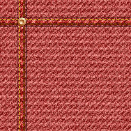 seam: Denim Texture Seamless in Red with Seam