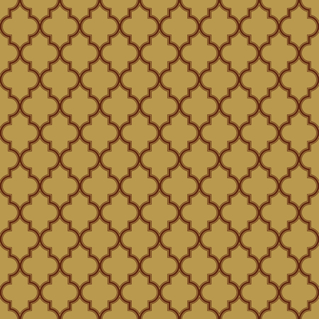 i3: Quatrefoil Seamless Pattern Vector - Set I3