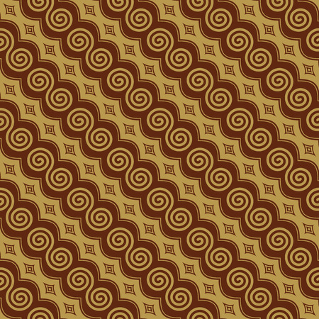 Javanese Batik Seamless Pattern Vector - Set K1