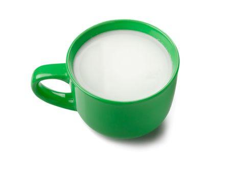 The big green mug of milk photo