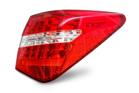 Rear lights Right Stock Photo