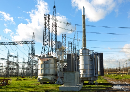 isolator switch: High Voltage Substation