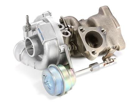 Turbocharger Stock Photo