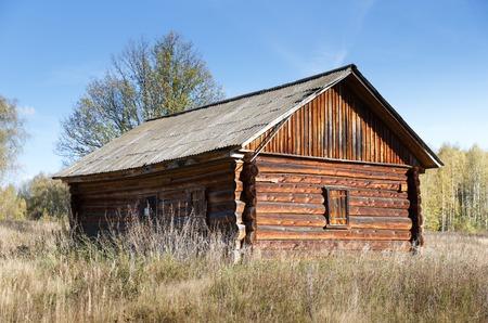 deserted: Old deserted farm house