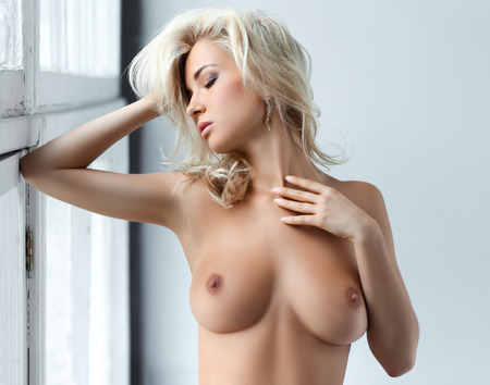 Girl with topless