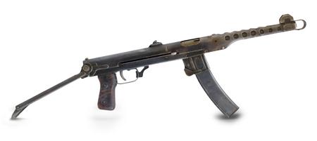 seconda guerra mondiale: Russia Seconda Guerra Mondiale. pistola mashine. Archivio Fotografico