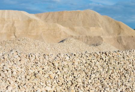 piedra caliza en el desarrollo de roca