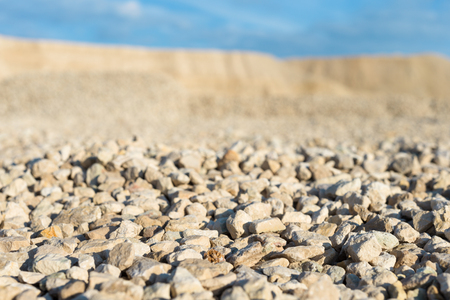 macadam: limestone in the development of rock