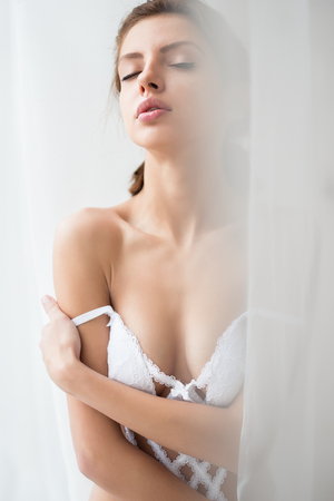 Nude woman. Sexy nude lady