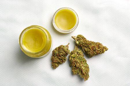 Medical marijuana concept cannabis natural products
