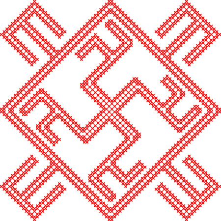 Slavic symbol Illustration