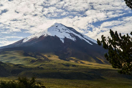 Cotopaxi is an active volcano in the Andes Mountains, in the Latacunga canton of Cotopaxi Province, south of Quito. Second highest summit in Ecuador and one of the world's highest volcanoes