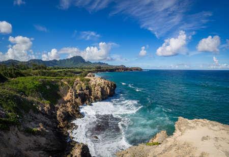 Maha' elepu Heritage Trail, near Shipwreck Beach, Koloa, Kauai, Hawaii, USA Banco de Imagens - 82241773