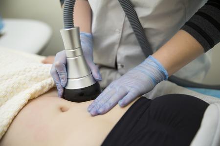 Afslanken en cellulitis laserbehandeling in de kliniek