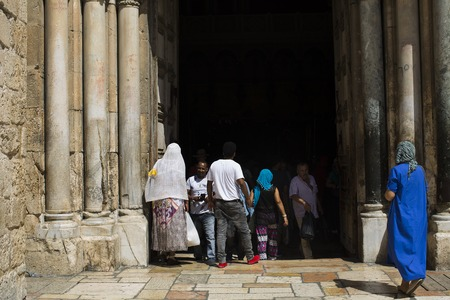 temple of the resurrection of Christ, Jerusalem