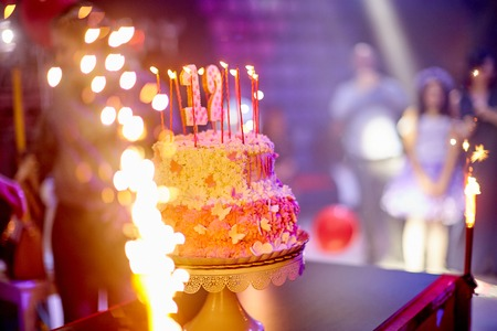 cake, fireworks, party holiday butterflies Bat Mitzvah
