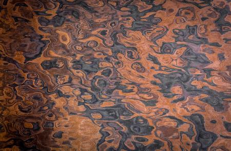Holz Textur. dekoratives Furnier. Walnusswurzel. als Hintergrund verwenden