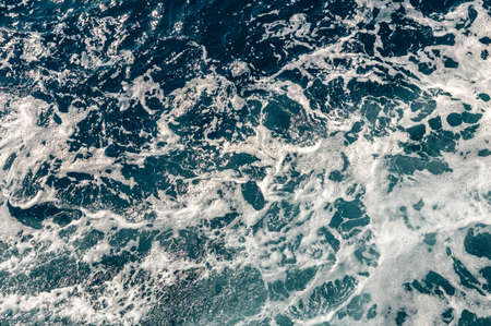 Background shot of aqua sea water surface. Abstract texture of nature. used as background.