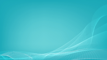 Beautiful of soft blue line cuve abstract background.