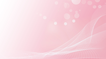 Beautiful of soft pink with bokreh with line cuve abstract background.