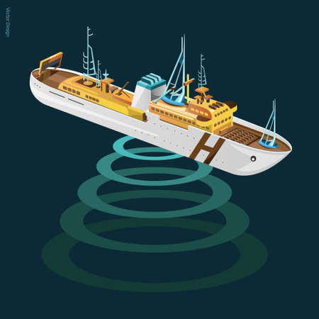 waterway: research vessel