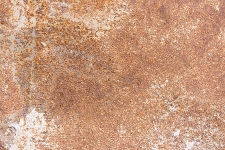 a rust stain