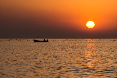 sunset landscape scenery view
