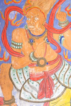 Paintings of a deity 新聞圖片