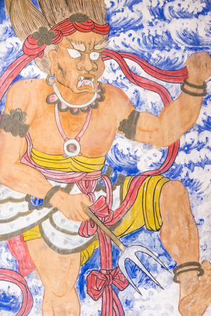 Paintings of a deity Editorial