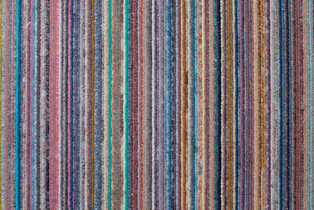 some colorful striped fabric filling the frame Stock Photo - 8788951