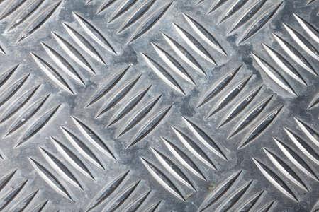 a closeup of dirty corrugated sheet metal