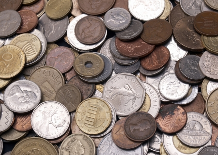 Money and Currency Design Background and Detail Stock fotó - 25096586