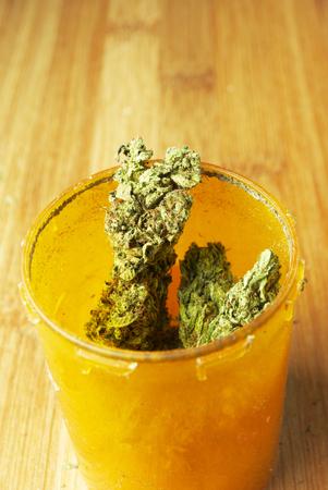 Weed, Medical Marijuana Grunge Detail and Background photo