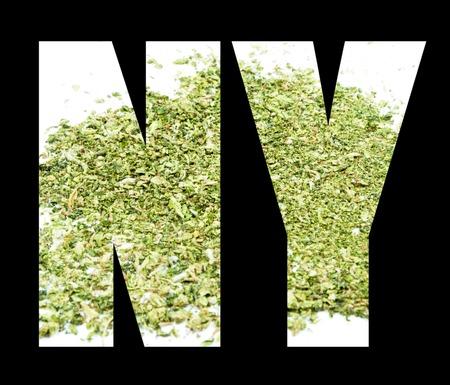 Marijuana, New York Symbol and Icon, NY photo