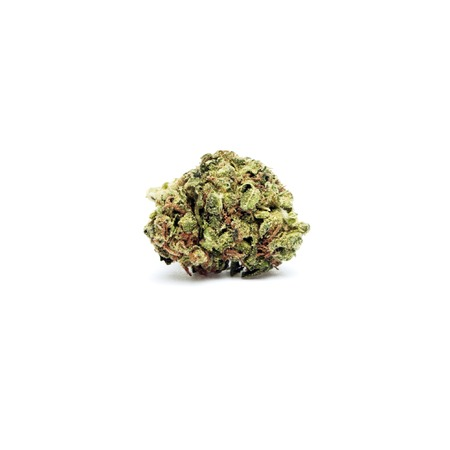 Marihuana en cannabis Legalisatie, Objecten op een witte achtergrond, medische en recreatieve Weed