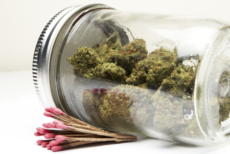 Marijuana and Cannabis Stock Photo