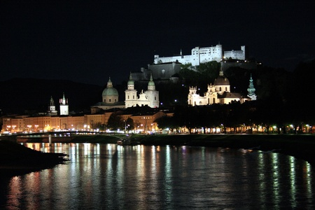 Salzburg At Night, Austria