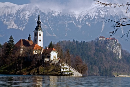 Lake Bled Island and Castle
