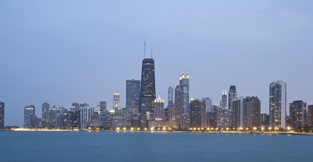 Downtown Chicago Skyline, USA