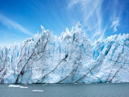 Perito Moreno Glacier, Argentina Stock Photo