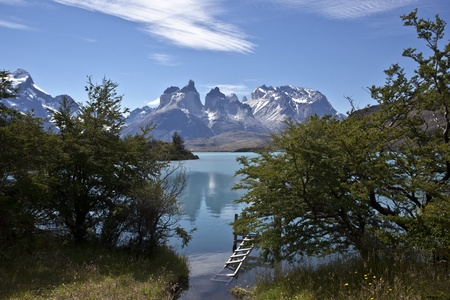 Torres del Paine National Park, Patagonia, Chile Stock Photo