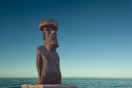 Easter Island Statue Editorial