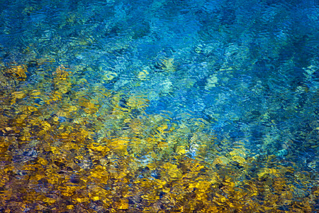 Colorful Water Abstract Background Stock Photo