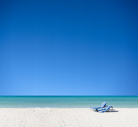 Summer Vacation on the Beach Standard-Bild