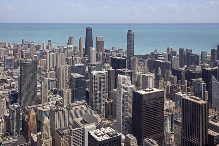 Chicago Skyline Standard-Bild