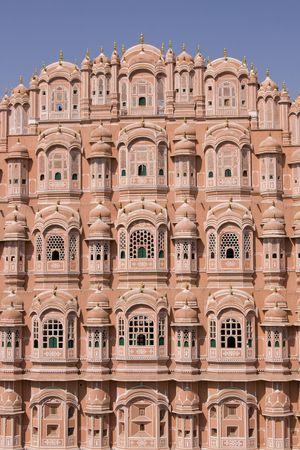 Hawa Mahal or Palace of the Winds. Jaipur, Rajasthan, India photo