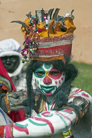 Jaipur, India - March 21, 2008: Indian man dressed as the