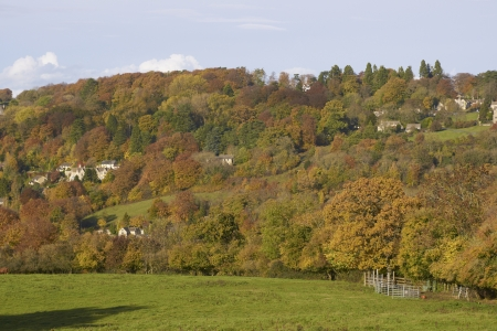 Autumn in the Cotswolds, Gloucestershire, England Stock Photo - 17036062