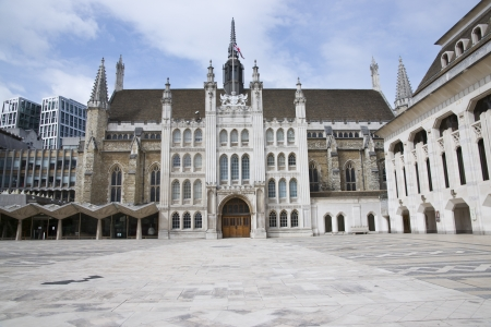 The Guildhall in the City of London, England photo